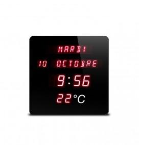 Horloge digitale rouge